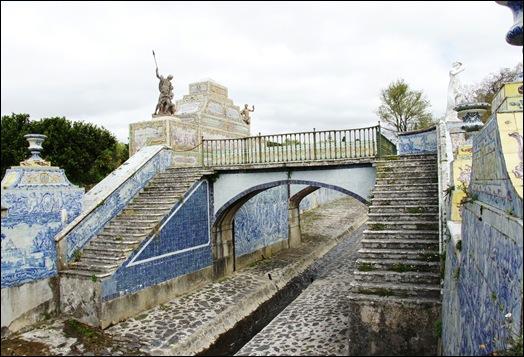 Palácio de Queluz - canal de azulejos 4