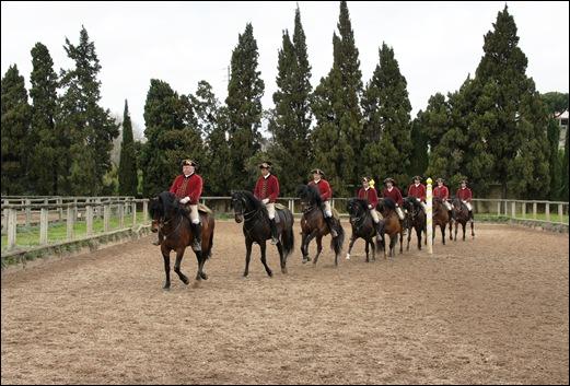 Palácio de Queluz - Picadeiro de trabalho