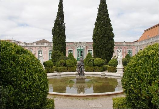 Palácio de Queluz - jardim de Malta