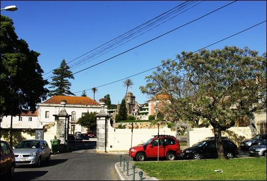 Quinta Real Caxias - portão de entrada