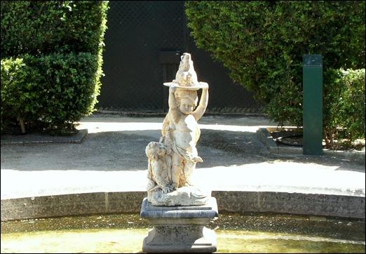 Quinta Real Caxias - Escultura Fontenária representando o Inverno