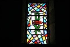 Sabugal - Glória Ishizaka - igreja de são joão - interior - vitral 4