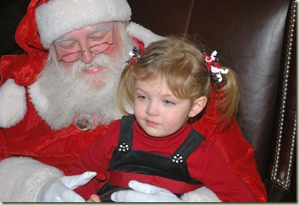 12-20 Keelie With Santa