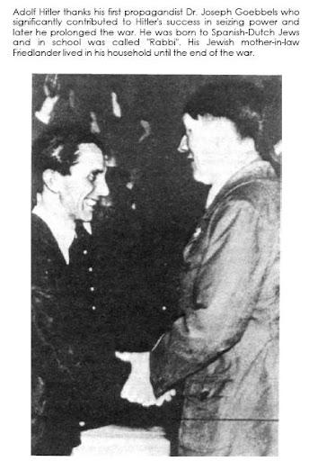 Göbbels und Hitler