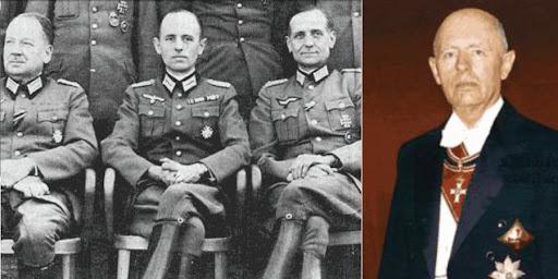 In der Mitte: BND-Gründer Gehlen