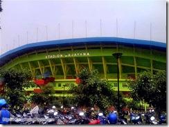 Malang Gajayana Stadium Front