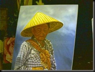 Malang Tempo Doeloe 2010 Old Woman Painting