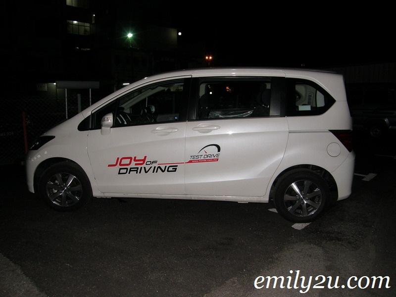 new Honda Freed in Malaysia
