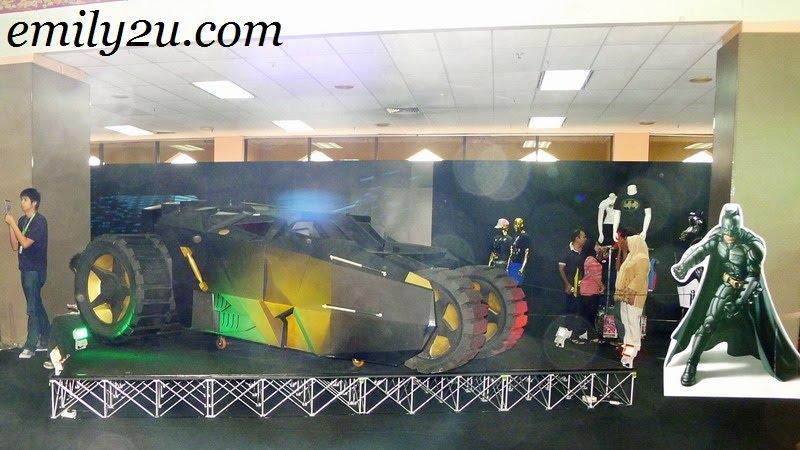 Batman's ride