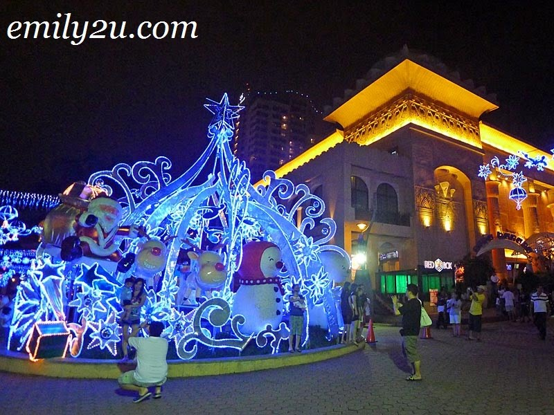 Christmas at Sunway Pyramid in Bandar Sunway