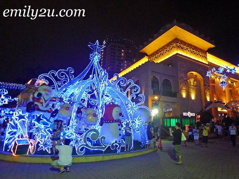 Christmas at Sunway Pyramid in Bandar Sunway