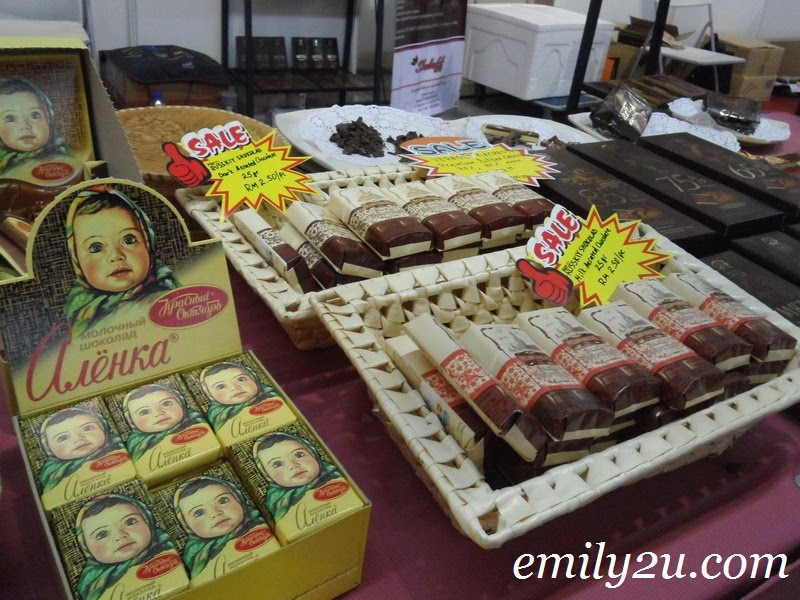 Russian chocolates