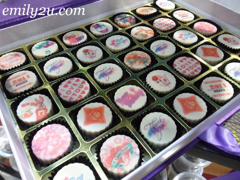 personalized chocolates
