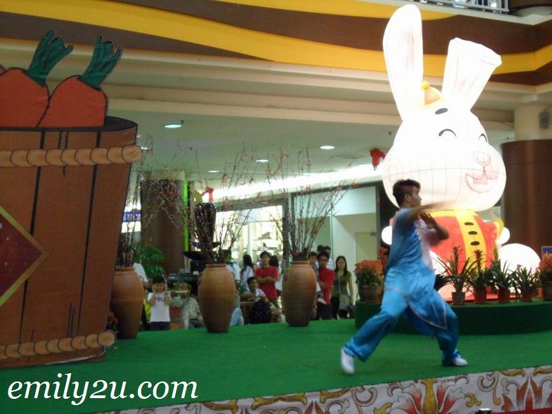 Shaolin demonstration