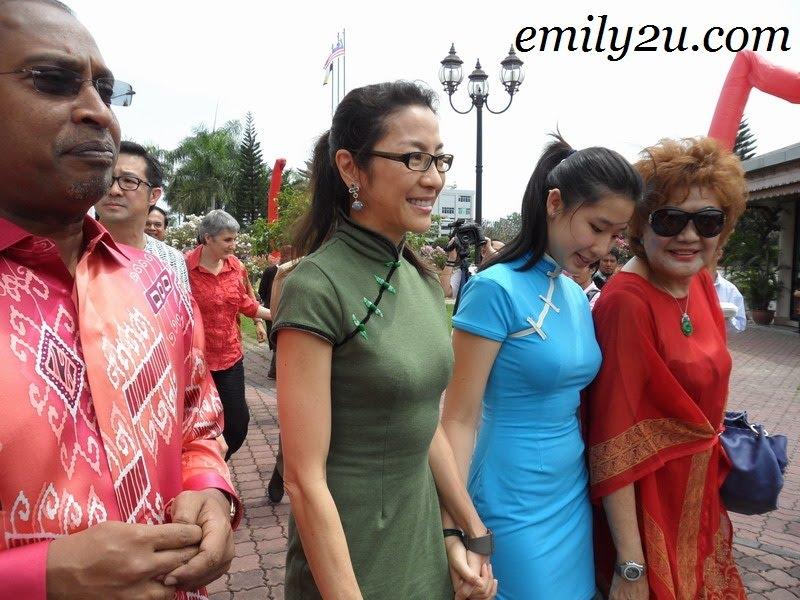 Perak MB, Michelle Yeoh, Datin Janet Yeoh