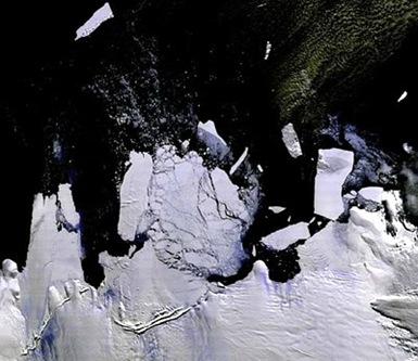 Izeberg de la Antartida