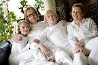 Sophia Arnö mit Familie