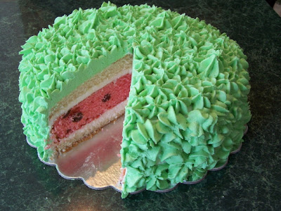 Watermelon Cake