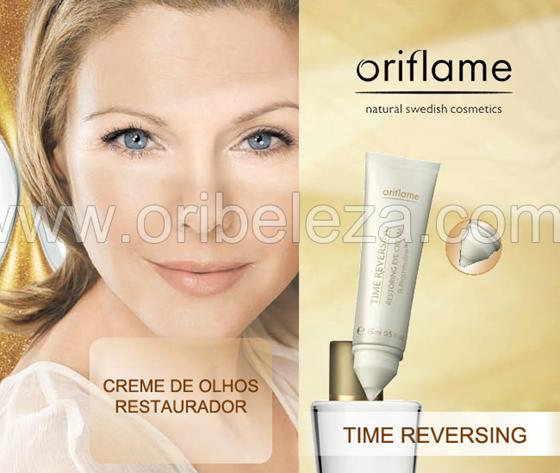 Creme de Olhos Restaurados Time Reversing da Oriflame