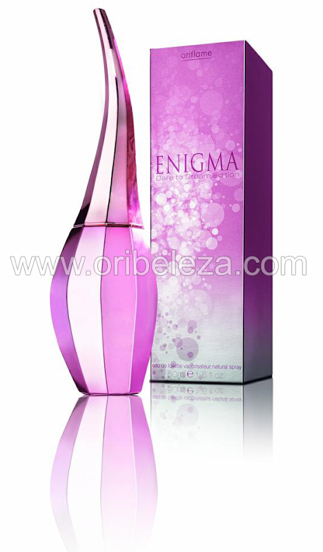 Eau de Toilette Enigma Dare To Dream da Oriflame