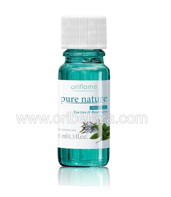 Gama Pure Nature com Extractos Orgânicos de Tea Tree e Alecrim da Oriflame