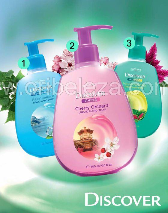 Sabonete Líquido  - Catálogo 05/2011 da Oriflame