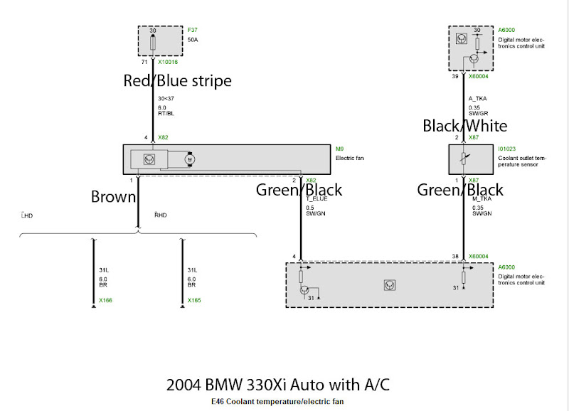 e46_fan_diagram_v2 2004 bmw x5 wiring diagram bmw wiring diagrams for diy car repairs E46 Wiring Diagram PDF at sewacar.co