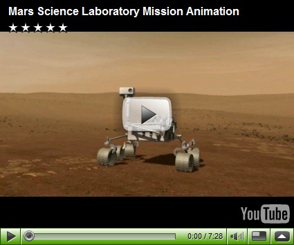 NASA Mars lab video
