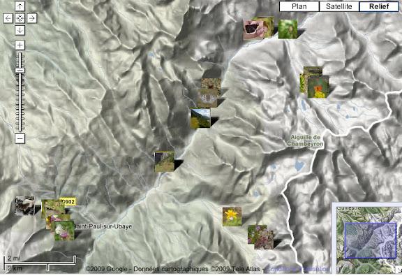 Localisation des photos : haute vallée de l'Ubaye