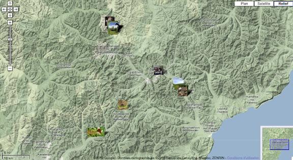 Localisation des photos autour de Dal'negorsk