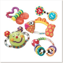 Butterfly Rattle and Teether set