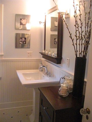 colonial bathroom design