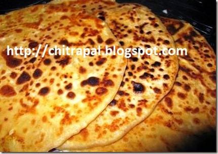 Chitra Pal Paneer Paranthas