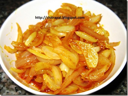 Chitra Pal Carmalized Onions