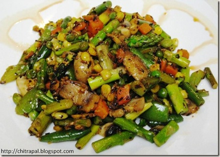 Chitra Pal Stir Fried Veggies