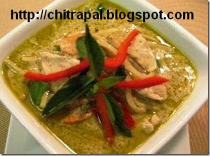 Chitra Pal Thai Chicken Curry