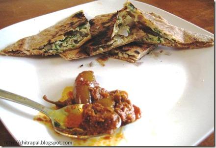 Chitra Pal Egg Parantha
