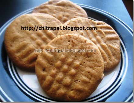 Chitra Pal Almond and Peanut Butter Cookies