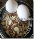 Chitra Pal Eggs and Almonds