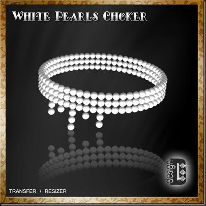 White Pearls Choker jpg