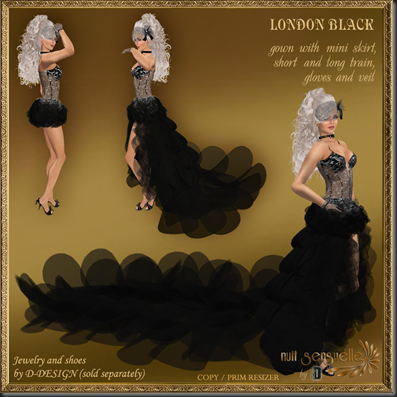 D-DESIGN London Black png