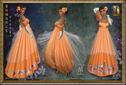 D-DESIGN Romance Orange'