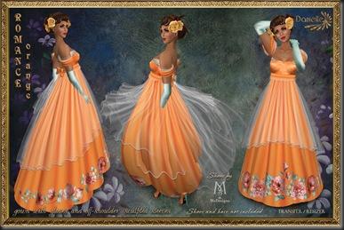 DANIELLE Romance Orange'