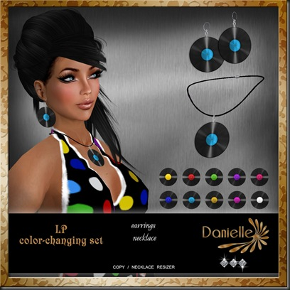 DANIELLE LP color-changing set'