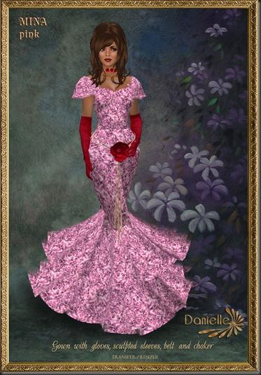 DANIELLE Mina Pink'