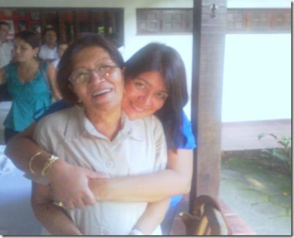 Mami e eu