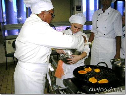 Início fritura Acarajé BR 2