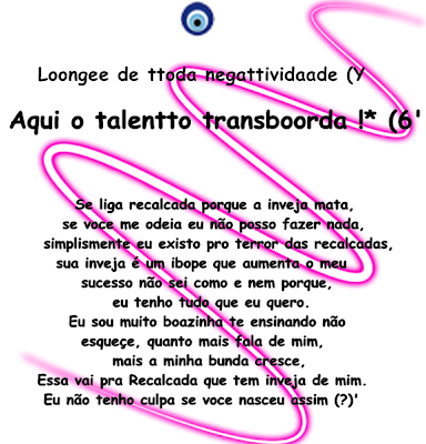 Blog de minahzika : Blog da Any'h, Perfil do orkut =) 02