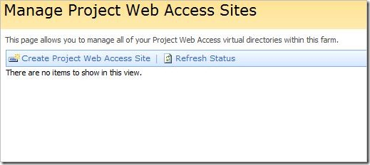 Project Web Access