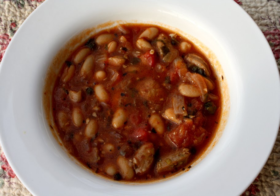 ChickenSausageStew1 Recipe Recovery: Chicken Sausage and Bean Stew
